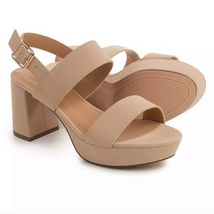 Bamboo Camille Heeled Sandals
